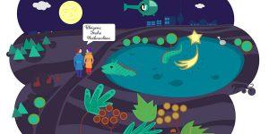 Animiertes GIF – Neujahrskarte für ucm berlin, Weiterentwicklung